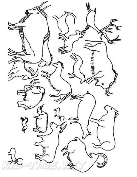 Aboriginal Animal Evolution Drawings Coloring Book Page ...