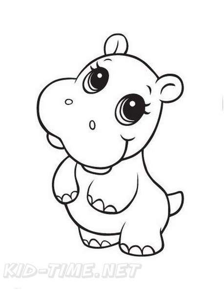 - Baby Animals Coloring Book Page Free Coloring Book Pages Printables