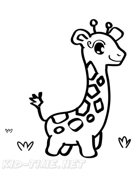 Baby Animals Coloring Book Page Free Coloring Book Pages Printables