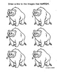 Bear Craft and Activities Coloring Book Page