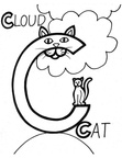Cat Craft and Activities Coloring Book Pages