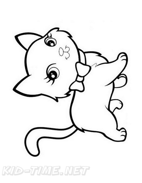 - Kitten Coloring Book Page Free Coloring Book Pages Printables