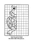 Frog Craft and Activities Coloring Book Page