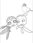 A Turtle's Tale Coloring Book Pages