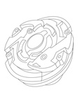 Beyblade Coloring Book Page