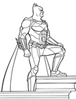 Batman Coloring Book Page