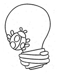 Basic Shapes Toddler Beginner Coloring Book Page