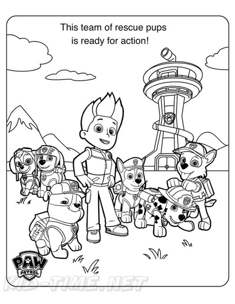 - Paw Patrol Coloring Book Page Free Coloring Book Pages Printables