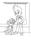 Ryder Paw Patrol Coloring Book Page