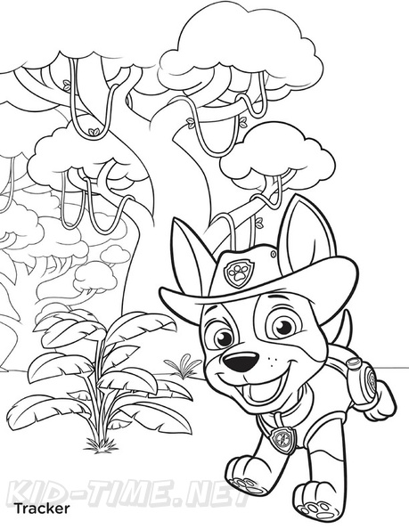 33 Paw Patrol Coloring Pages Tracker - Free Printable Coloring Pages