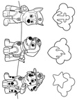 Zuma Paw Patrol Coloring Book Page