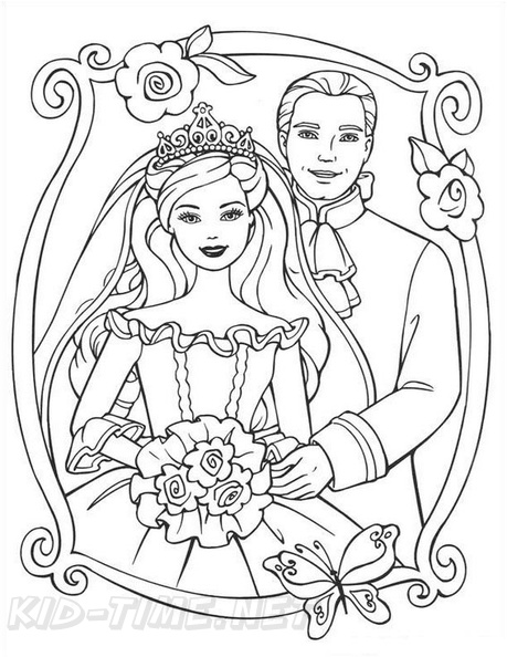 - Princess Barbie Coloring Book Page Free Coloring Book Pages Printables