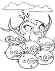 Angry Birds Coloring Book Page