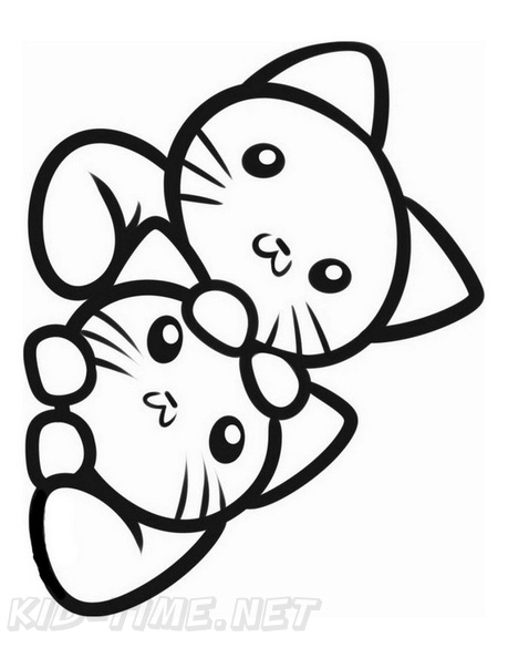 Cat Simple Toddler Easy Coloring Book Page Free Coloring Book Pages Printables